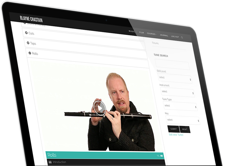 Blayne Chastain Online Tin Whistle Irish Flute Bodhrán Lessons